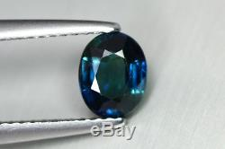 1.165 Ct Amazing Rare Unusual Royal Blue Natural Unheated Africa Sapphire Gem