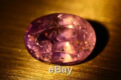 3.630 Ct Certified Rare! 100% Color Change Natural Unheated Ceylon Sapphire Gem
