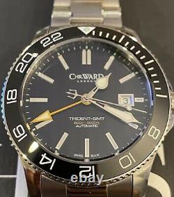 Christopher Ward C60 Trident GMT 600 43mm RARE OLD LOGO