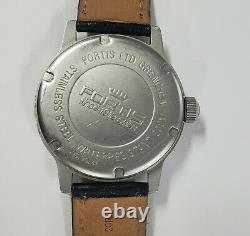 FORTIS PILOT LTD GRENCHEN Rare dial AUTOMATIC WATERRESISTANT 200M