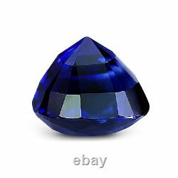 GRS Certified Rare Ceylonese Royal Blue Sapphire 1.14ct Cushion Natural Unheated