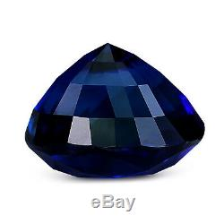 GRS Certified Rare Ceylonese Royal Blue Sapphire 2.01ct Oval Natural Unheated