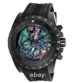 Invicta Pro Diver Limited Men's 52mm Abalone Dial Swiss Chrono Watch 25095 Rare