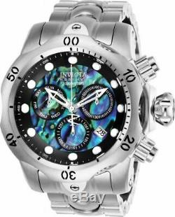Invicta Reserve Venom 26578 Men's Abalone Stainless Swiss Chronograph Watch RARE