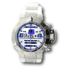 Invicta Star Wars R2D2 Limited Edition Men's 50mm Chronograph Watch 26240 RARE