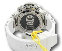 Invicta Star Wars R2D2 Limited Edition Men's 50mm Chronograph Watch 32528 RARE