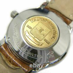 Jaeger-LeCoultre Master Control 140.8.89 SS K18 AT Wrist watch Excellent Rare