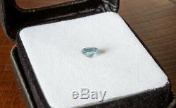 Montana Sapphire Ice Blue 1.19 carat French Square Cut RARE! Natural