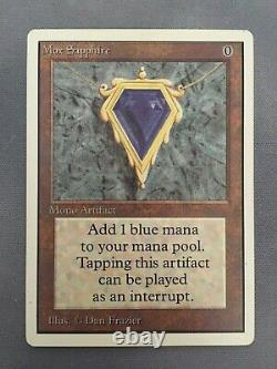 Mtg Unlimited MOX SAPPHIRE, excellent condition