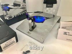 NEW IN BOX Extremely Rare VINTAGE OAKLEY JULIET CARBON SAPPHIRE BLUE SKU#04-149