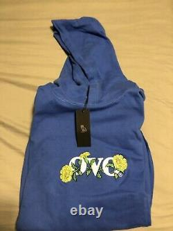 OVO Blue Marigold Hoodie Sapphire Authentic & Rare Size XL New With Tags