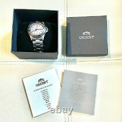 Orient Mako USA II Automatic Watch White Dial Rare Discontinued