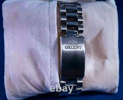 Orient President Day/Date Rare Model FEV03001WY