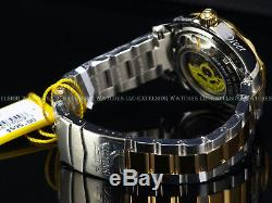 RARE Invicta Mens 300M Grand Diver Automatic TT Blue Dial Stainless Steel Watch