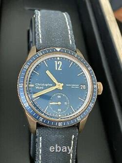 Rare! CHRISTOPHER WARD C65 BRONZE COSC SH21 LIMITED EDITION AUTOMATIC Only 150