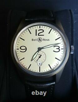Rare Edition of 50 Bell & Ross BR123 Original Beige PVD Carbon Watch