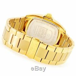 Rare Invicta Grand Lupah with Abalone Shell Dial Special Edition Gold Link Band