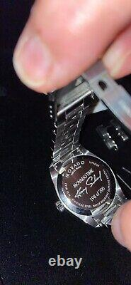 Rare Movado Limited Edition Unisex Watch Numbered On Back Of Case #198 Of 200