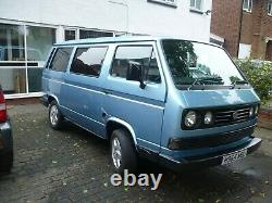 Rare South African Volkswagen T3 Big Window 2.5 litre 8 seater Microbus