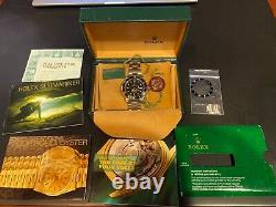Rolex 16610 Submariner Rare Swiss Only Stainless Steel Watch Box & Papers