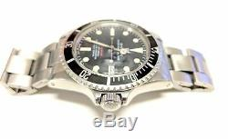 Rolex 1680 Submariner Red Watch 1960s 1680 1570 Rare Collectible Vintage
