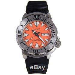 Seiko Orange SRP309 Monster 24-Jewel Automatic Watch Rare SRP309K1 made in Japan