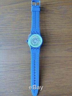Swatch Sistem51 Grid Automatic Movement White Dial Men's Watches SUTN401 rare