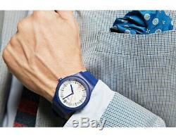 Swatch Sistem51 Grid Automatic Movement White Dial Men's Watches SUTN401rare