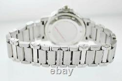 TIFFANY & CO. Rare Vintage SS Burgundy Men's Diving Watch $10K Apr. With CoA