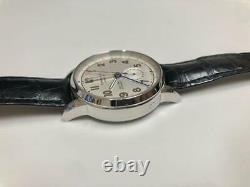 Tiffany & Co. CT60 DUAL TIME Men's Wristwatch Rare Genuine Used F/S from Japan