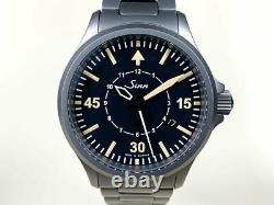 Very Rare Sinn 856 B-Uhr Tegimented Steel Limited Edition Watch in FULL SET