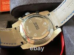 Very Rare Tudor Chronograph Gray Dial Automatic Watch 20300 with Box & Paper NOS