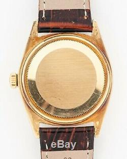 Vintage RARE 1963 Rolex 18k Datejust Ref. 1601 from Estate! Excellent Condition