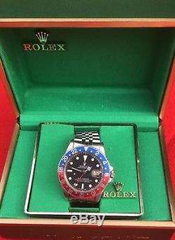 Vintage Rare 1978 Rolex Gmt-master 1675 Mark IV Dial Jubilee Band