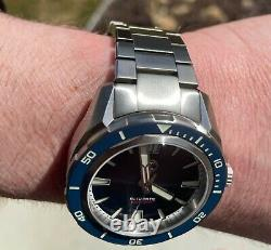 ZELOS Swordfish V2 42mm Midnight Blue 300M Seiko NH35 SS Case SOLD OUT RARE